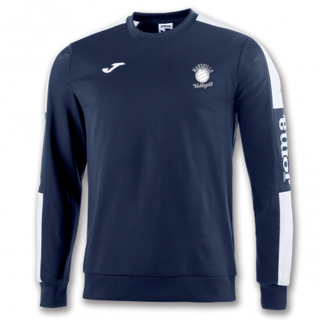 Sweat 1/4 Zip Marseille Volley 13